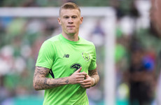 James McClean ruled out of Wales Nations League clash