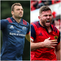 Beirne set for Munster debut off bench as Taute returns for Glasgow trip