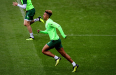 Ireland debut for Robinson as O'Neill names starting line-up to face Wales