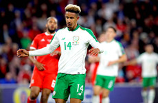 'I had butterflies in my belly' - Robinson reflects on international debut