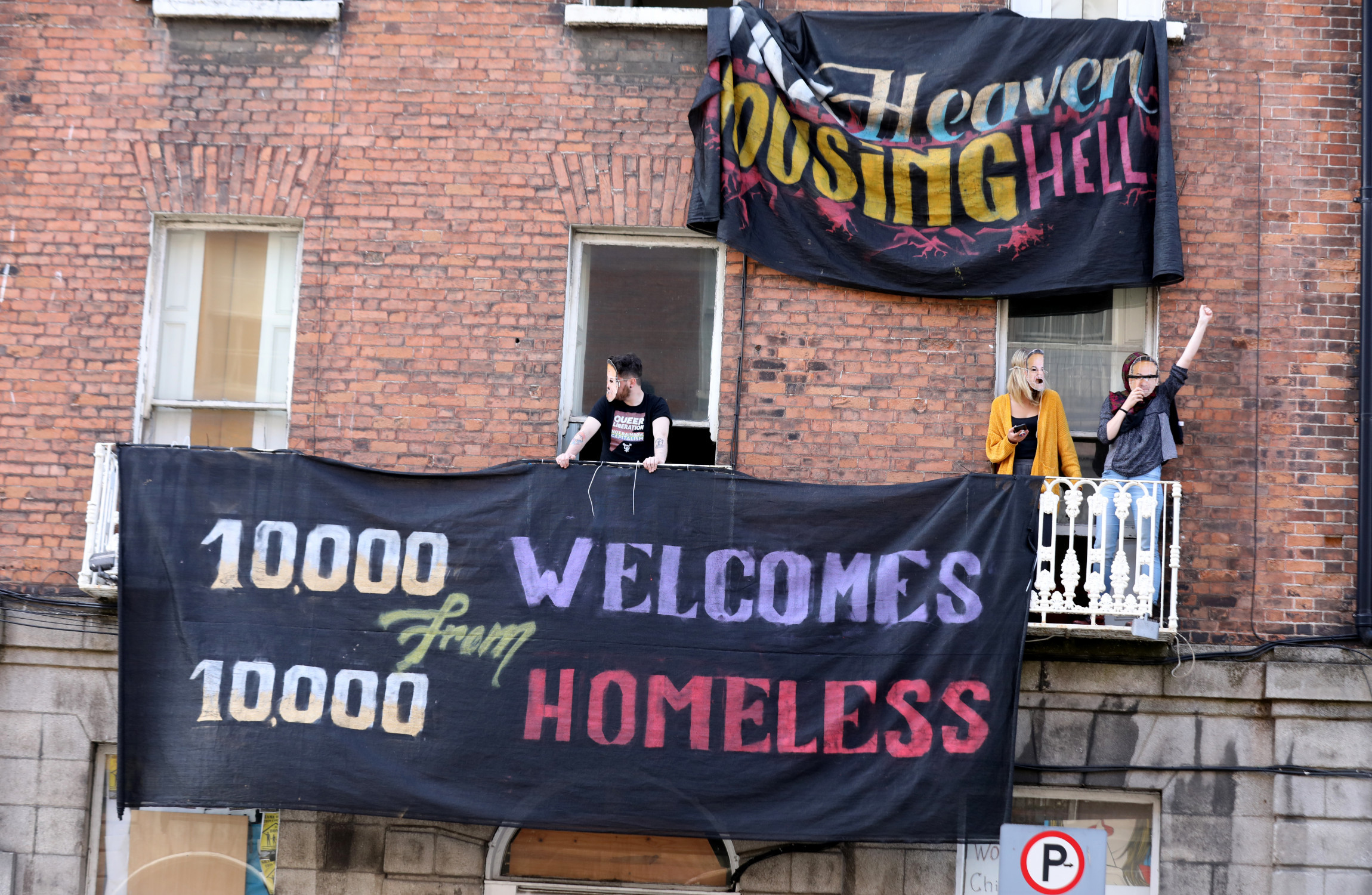 Image result for Housing protesters have left Belvedere Place property