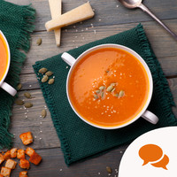 'Raw food doesn't have to be scary - but I think it's time for a bowl of homely hot soup'