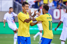 Captain fantastic: Neymar and Firmino on target as Brazil cruise to victory over USA