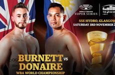 Belfast's Burnett addresses flag 'controversy' ahead of Super Series showdown with Donaire