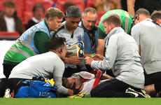 Luke Shaw stretchered off as Spain puncture England's feel-good factor at Wembley