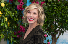 Mamma Mia's Christine Baranski spent her Sunday unveiling a sculpture made of waste in Donegal
