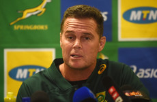 Former Munster coach 'Rassie' Erasmus says job on the line against All Blacks