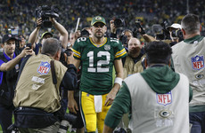 Hobbled Packers quarterback Rodgers inspires one of the greatest comebacks in Green Bay history