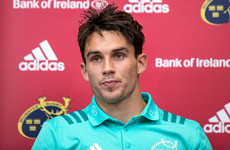 Carbery: 'Munster is home now, I'm very happy seeing myself here for a while'