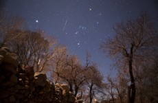 Meteor shower will be visible from Ireland this weekend