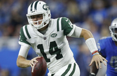 Sam Darnold shakes off woes to lead Jets past Lions in crushing fashion