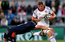 Jordi Murphy suffers ankle ligament injury on Ulster debut