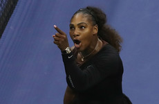 Serena acted with 'grace and class' in US Open final - NBA star Steph Curry