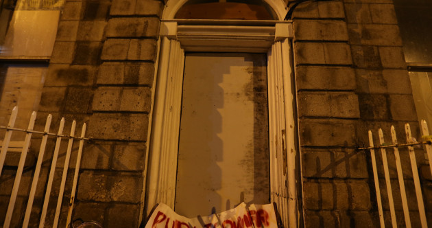 Men in balaclavas criticised during eviction of activists at occupied Dublin property