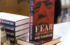 How is Bob Woodward's book on the Trump presidency selling in Ireland?