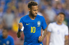 'There's no way I'm going to stand for a situation like this' - Neymar claims 'lack of respect' after yellow card