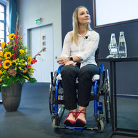 'I could have been dead, I was damn lucky,' says Olympic champion left paralysed after accident