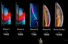 Here's what you need to know about Apple's three new iPhones