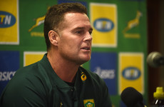 Rassie: 'The only thing everyone's been talking about the last few days is, 'Are you going to get fired?''