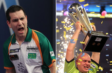 'I was going to give darts up or get laser eye surgery and fight' - The Limerick carpenter who stunned Van Gerwen