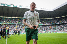 James McClean will make his punditry debut on Sunday for Eir Sport