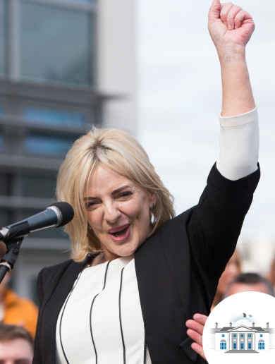 Liadh Ní Riada promises to bring 'enthusiasm, energy and commitment' if elected president