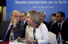 Clinton pushes for greater action on Syria