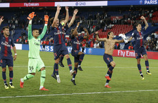 PSG prepare for crunch Liverpool clash with Parc stroll