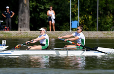 Ireland's Keogh and Hegarty finish sixth in World Rowing Championship final