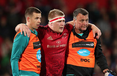Late injuries the only blemish on night Munster provide a glimpse of their firepower