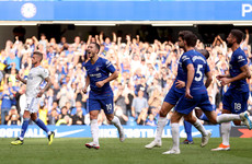 Chelsea survive scare to move level on points with Liverpool