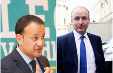 Fine Gael loses ground but still manages to increase lead over Fianna Fáil in latest opinion poll