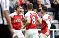 Xhaka stunner helps Emery's Gunners to third straight win