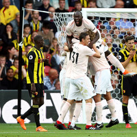 10-man Man United end Watford's 100% record
