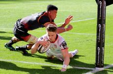 Late debut tries, but no bonus point as Ulster defeat Kings