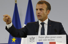 Macron under fire for telling young jobseeker to 'cross the road' to find work