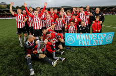 Derry City see off Cobh to end 6-year trophy wait