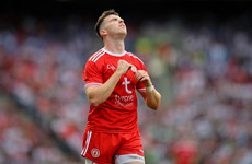 More injury heartache for Tyrone forward McAliskey