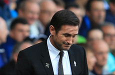 Derby boss Lampard hit with improper conduct charge after sending off