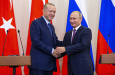 Syria war: Russia and Turkey agree demilitarised zone around Idlib