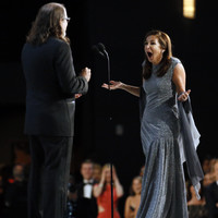 There was a marriage proposal on stage at the Emmy Awards