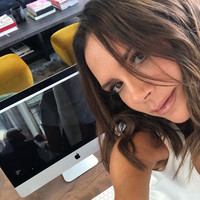 Victoria Beckham was dancing very enthusiastically to 'Spice Up Your Life' at London Fashion Week ...it's The Dredge