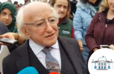 'That has to be settled': Michael D Higgins refuses to say whether he'll partake in presidential debates