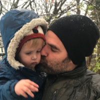 'When a sick baby with partial facial paralysis smiles, it�s golden. Especially if it�s my baby'