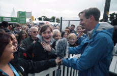 Ryan Tubridy brought his biggest fan to tears at the National Ploughing Championships