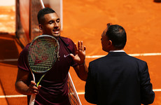 ATP suspends umpire over Kyrgios mid-match 'pep talk' at US Open