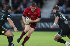 Sherry determined to make the most of every chance with Munster