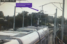The Luas Green Line is still not running its full service into the city