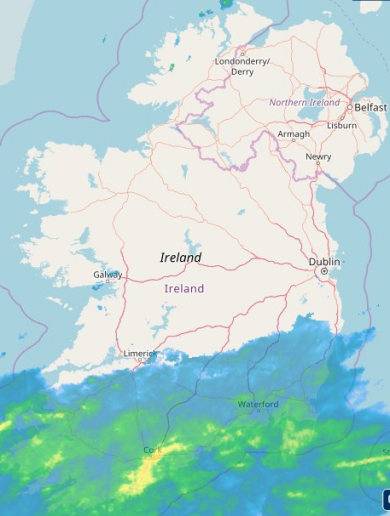 Storm Bronagh is here as heavy rains from the south lead to flood warnings