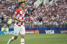 Liverpool defender Lovren charged with perjury along with Croatian team-mate Modric